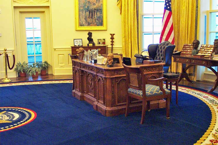 inside of oval office recreation