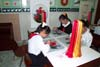 Kids Embroidering