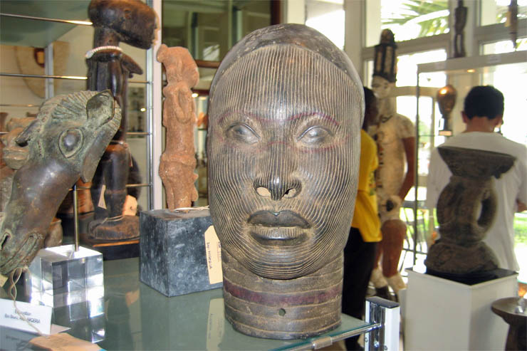 Five Hundred Year Old Benin Bronze In Togo Museum