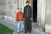 Tall Serb Monk