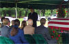 Phil Parrish Burial Service